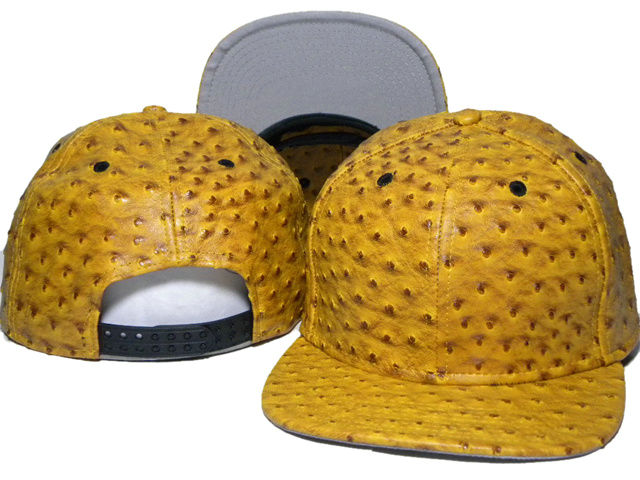Yellow Snapback Hat DD 1